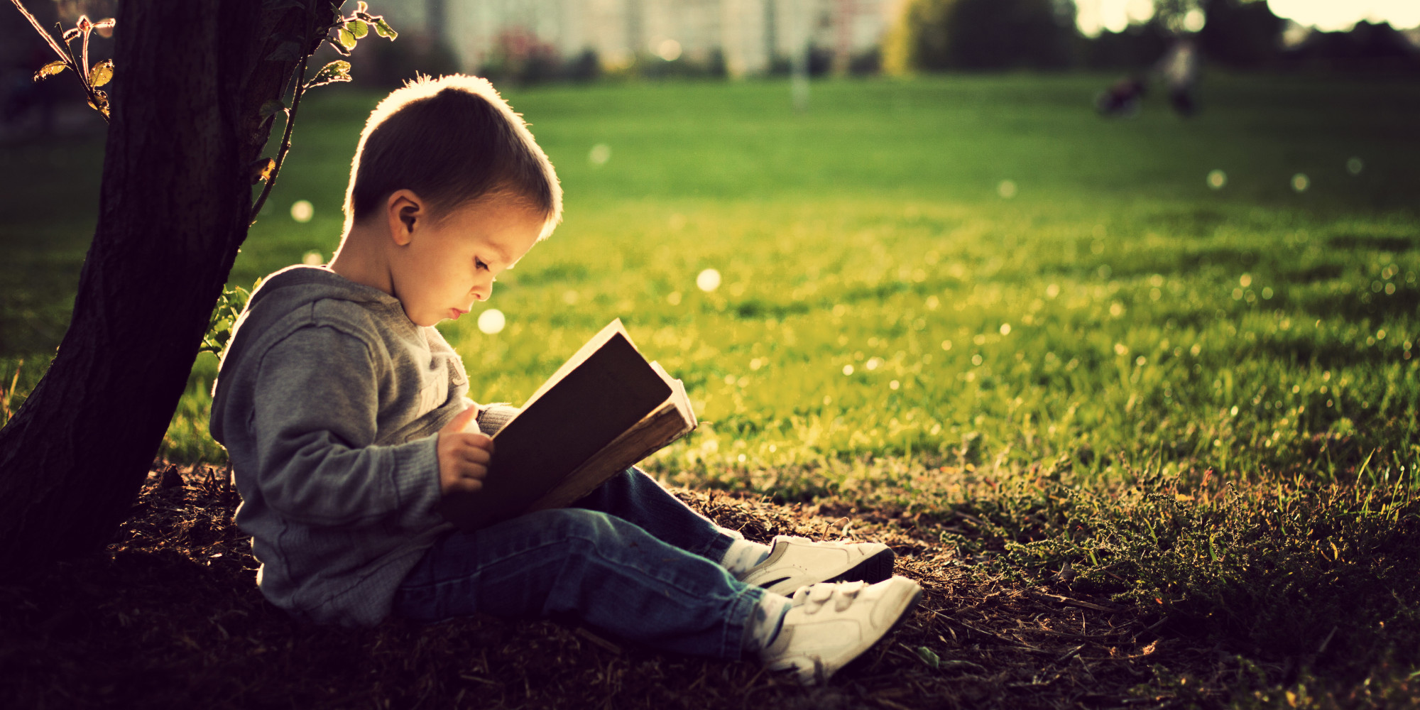 Image result for children reading books nature