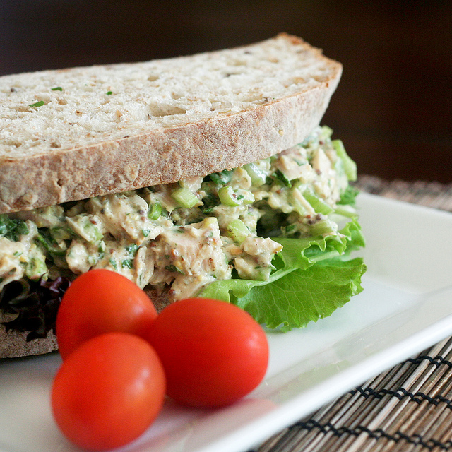 Delicious back to school packed lunch recipes the daily for Tuna fish sandwich