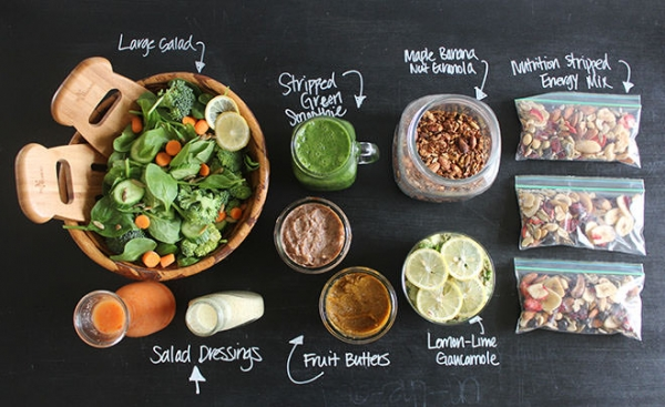 How to prep healthy meals for your busy schedule the daily crisp how to prep healthy meals for your busy schedule forumfinder Images