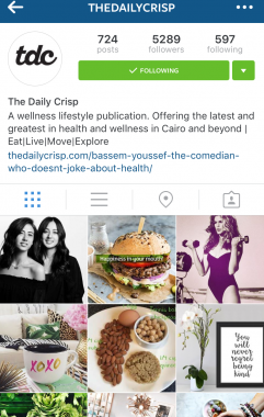 The Daily Crisp Instagram