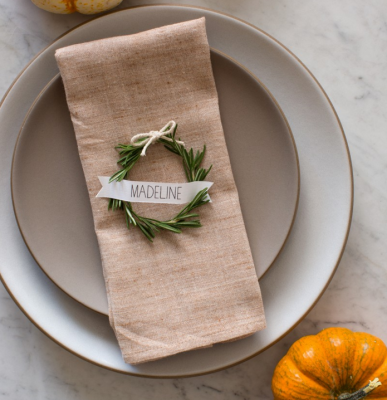 rosemary place cards