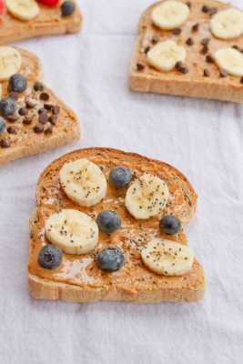 toast and nut butter suhoor