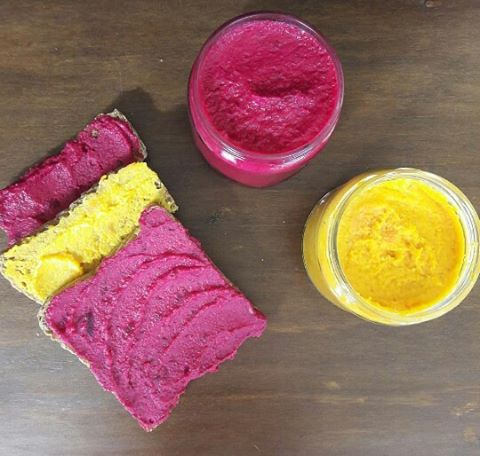 Recipe: Beetroot & Carrot Hummus