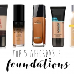 Beauty on a Budget: Top 5 Foundations under 250 L.E.