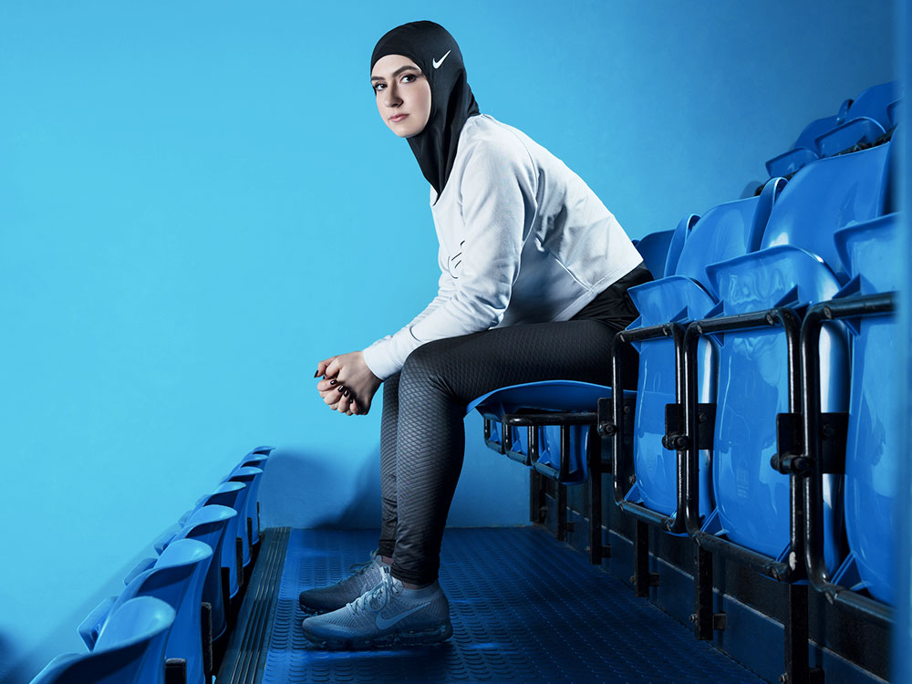 Nike Launches The First Ever Nike Pro Hijab Collection