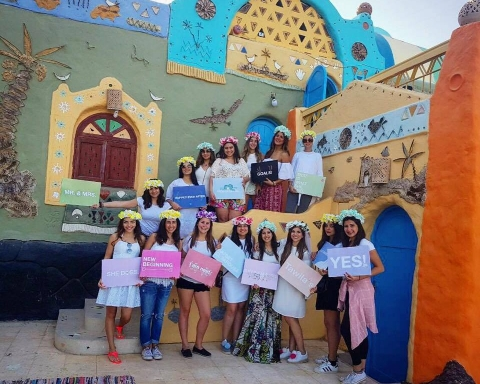 This Girl's Nubian Getaway is Bachelorette Party Goals