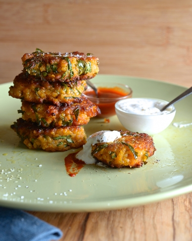 Kale fritters 4