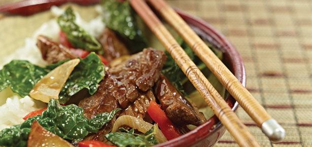 beef and kale stir fry 7