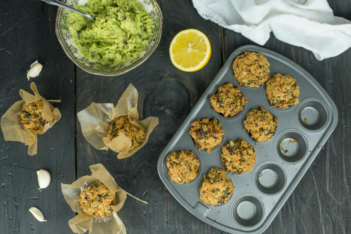 kale breakfast mini muffins 10