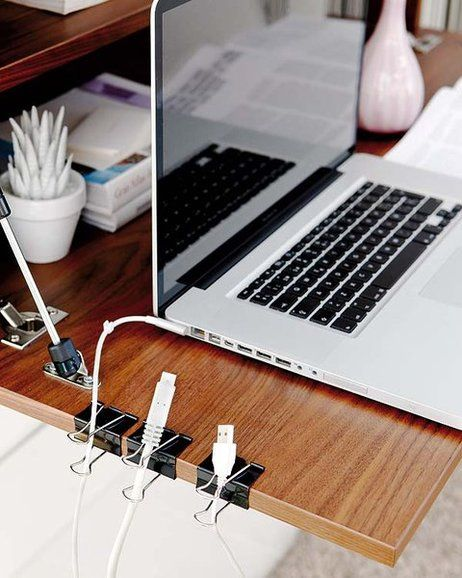 paper clips cords