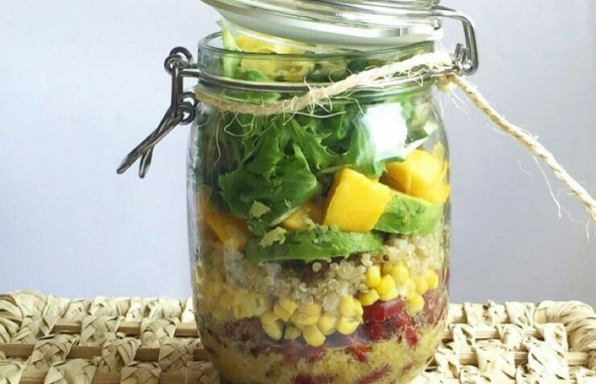 Recipe: Spicy Mango Salad Jar