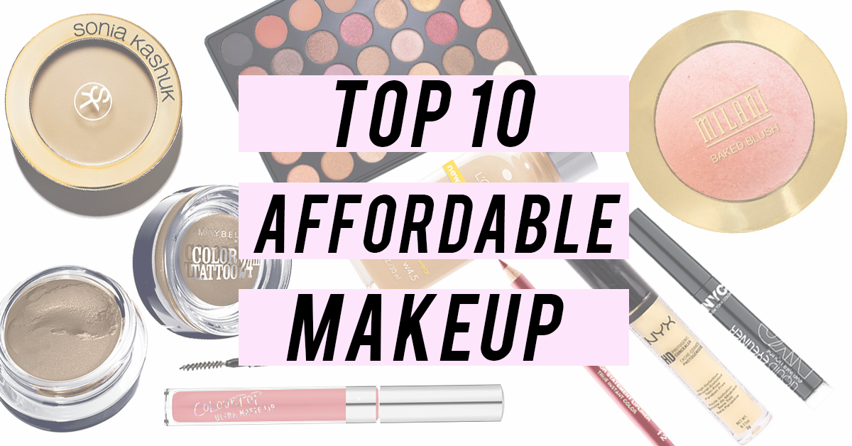 Budget Beauty: Top 10 Affordable Makeup Products