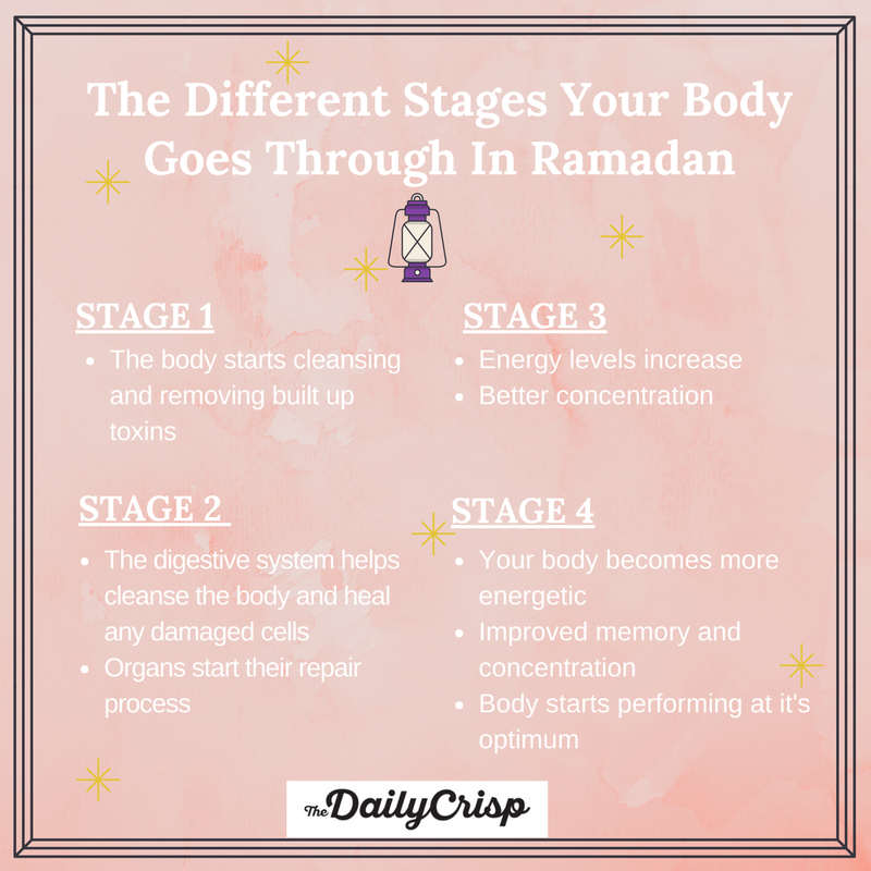 This Is What Happens To Your Body In The Different Stages Of Ramadan Fasting